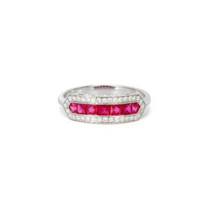Ruby & Diamond Ring - LAMB2093