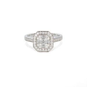 Diamond Cluster Ring - LAMB2279