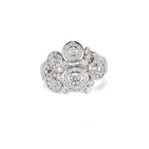 Diamond Bubble Ring - LAMB2561