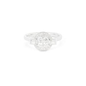 Diamond Cluster Ring - LAMB1332